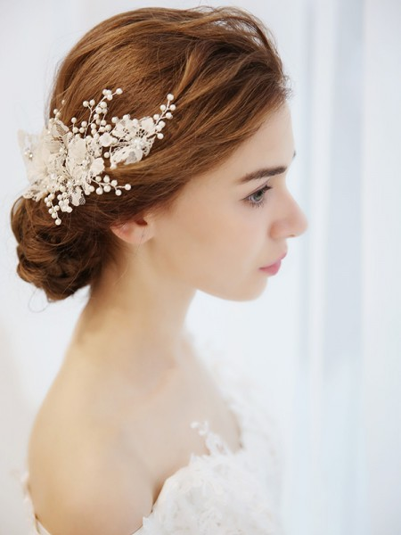 Bella Imitation Perle Acconciature da sposa